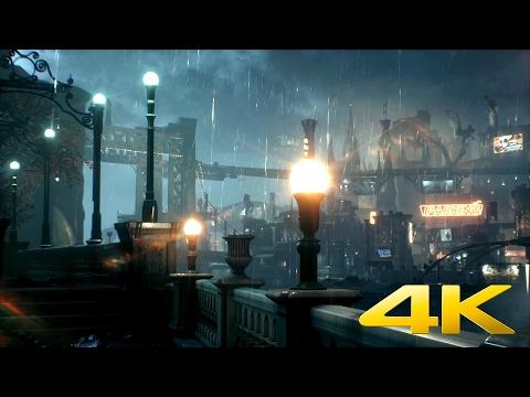 Batman: Arkham Knight - The Docks - DreamScene [Live Wallpaper] - 4K - YouTube