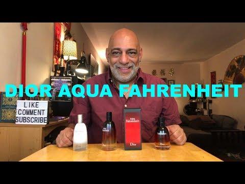 Christian Dior Aqua Fahrenheit (2011) REVIEW + 10ml Decant GIVEAWAY