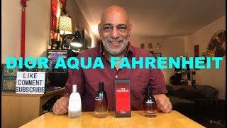 Christian Dior Aqua Fahrenheit (2011) REVIEW + 10ml Decant GIVEAWAY (CLOSED)