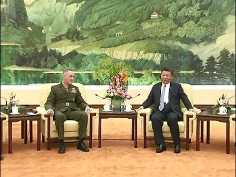 Chinese President Meets with U.S. Joint Chiefs of Staff