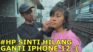 Henphone Sinti hilang auto beli Iphone 12