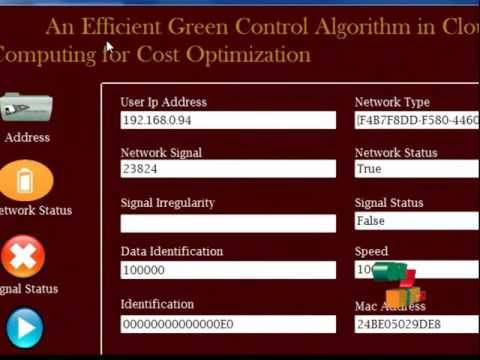 An Efficient Green Control Algorithm in Cloud Computing for Cost Optimization