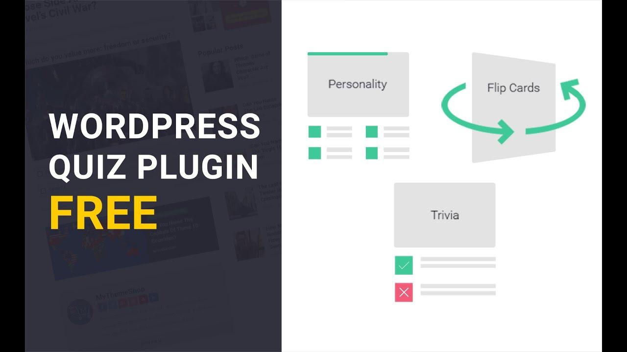 Best Quiz Plugin for WordPress: WP Quiz – WordPress plugin