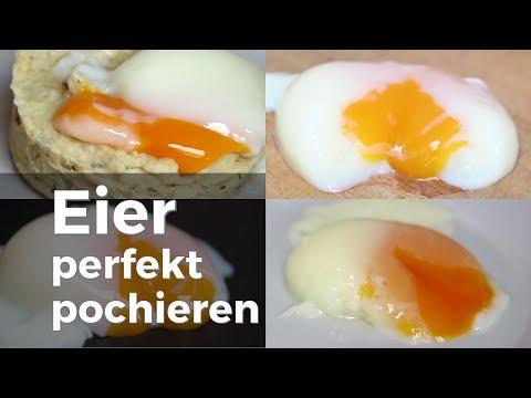 Eier pochieren mit perfektem Ergebnis