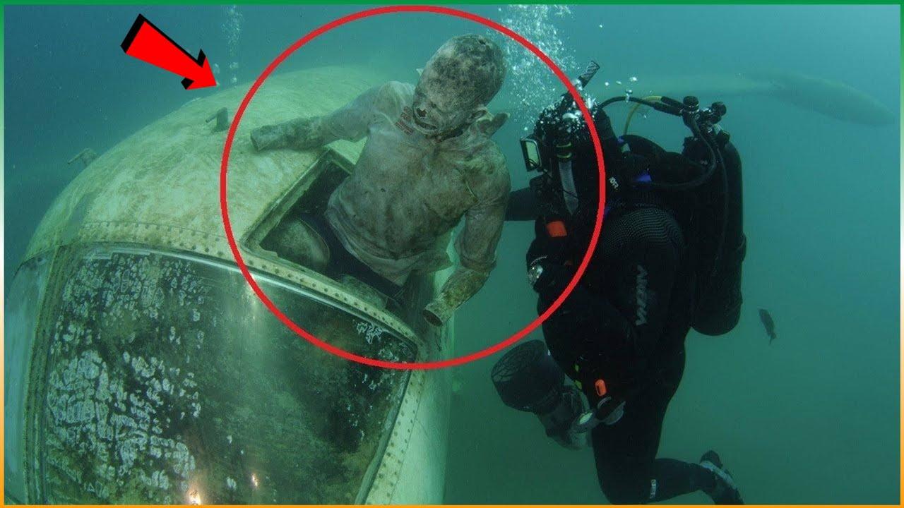गोताखोर को समुद्र में मिला कुछ खौफनाक चीजें | Divers Found Creepy Things In The Sea