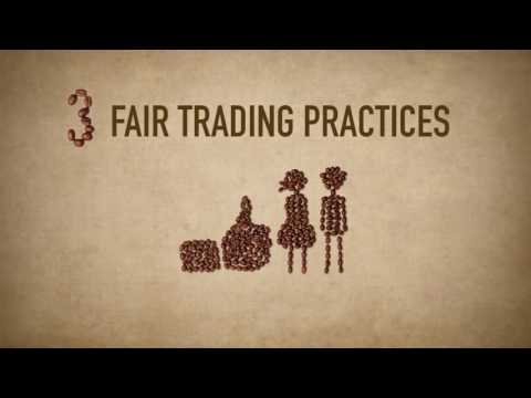 10 PRINCIPLES OF FAIR TRADE - as told by coffee beans !