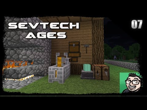 Sevtech Ages Minecraft EP7 - Ore Prospecting & Immersive Kiln