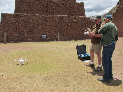 Exploring Ancient Sites In Peru With Quadcopter 2017