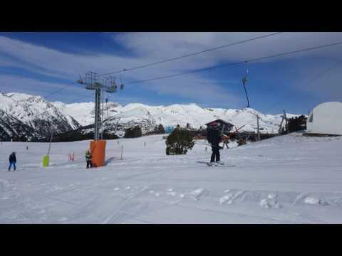 Samuel ski Andorra 2017 ski lift