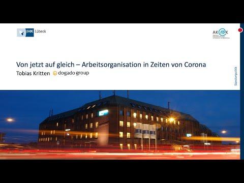 IHK Lübeck Webinar:  Von Jetzt Auf Gleich – Arbeitsorganisation In Zeiten Von Corona