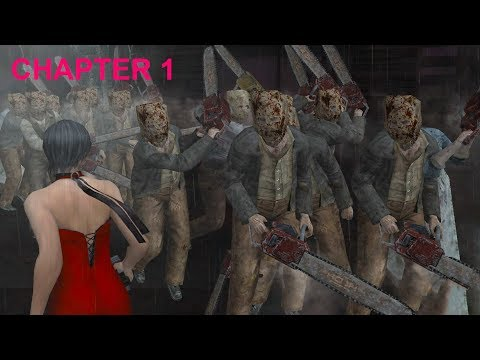 """Resident Evil 4 - Separate Ways (Welcome To Hell - """"Dark Edition"""") Mode - Chapter 1 (New Game) HQ"""