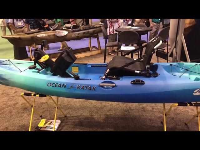 NEW: Ocean Kayak Malibu Pedal Drive at iCAST 2017