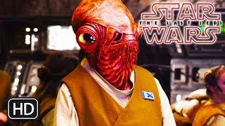 Star Wars The Last Jedi Admiral Ackbar Dies / Death Scene Explained - Admiral Ackbar Killed SPOILERS