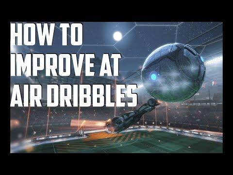 In-depth Air Dribble/Air Drag Tutorial (How to) - Rocket League