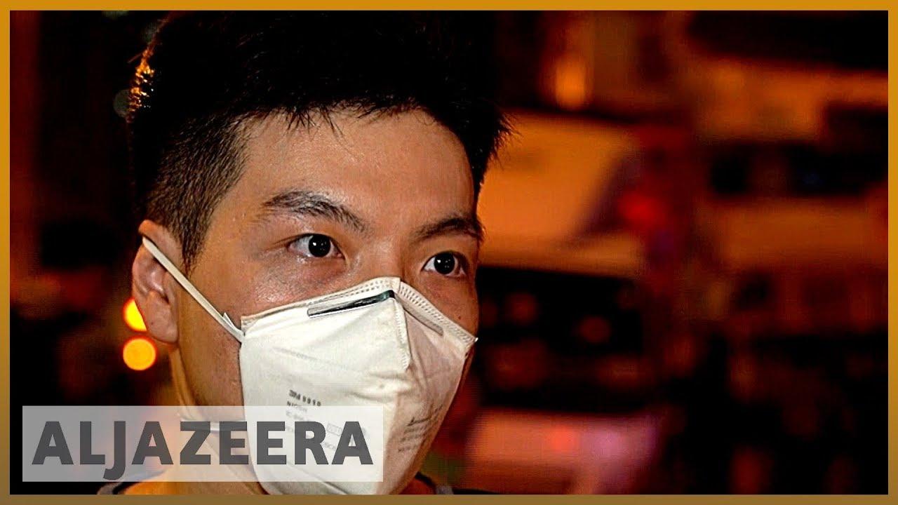 AlJazeera English:China slams 'terrorist-like actions' by Hong Kong protesters
