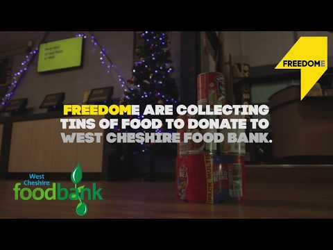 Freedome Cheshire Oaks - Christmas Food Bank