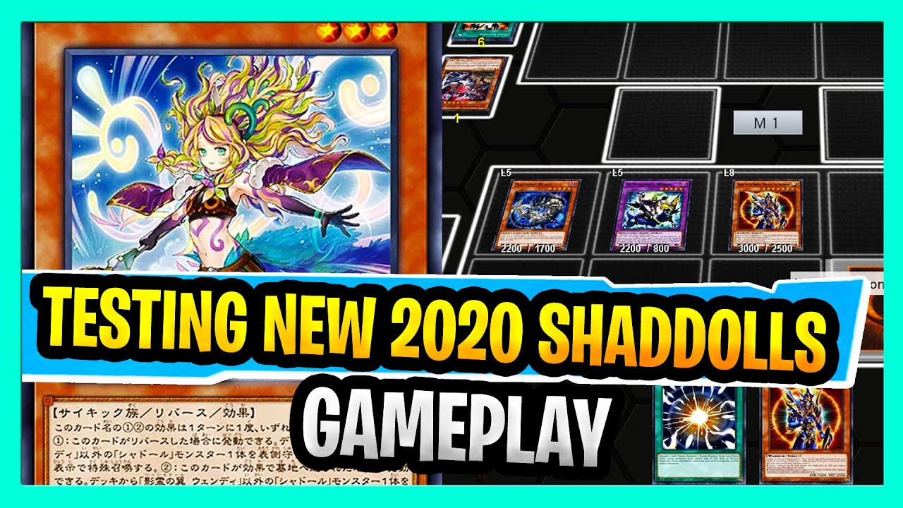 Ban List Yugioh 2020.Playing The New Shaddolls 2020 New Variant Using Budget Ft 3x Shaddoll Structure Deck Common Cards