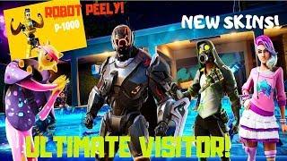 Fortnite-Visitor Turbo, Robot Banana, new Samsung Skin? V 10.30!