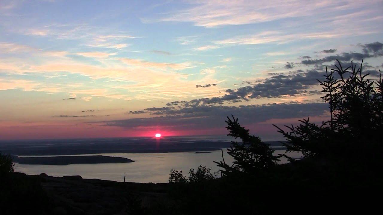 Cadillac Mountain Sunrise 1080p - YouTube