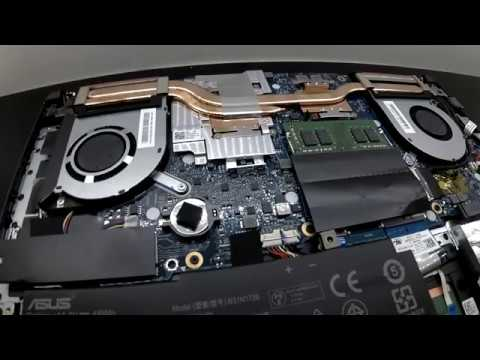 ASUS TUF Gaming FX505DT Tear Down And Upgrade Options