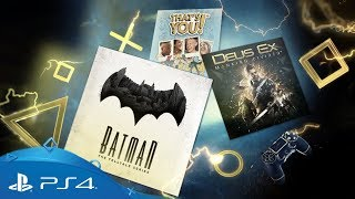 PlayStation Plus | Monthly Games for January 2018 | PS4