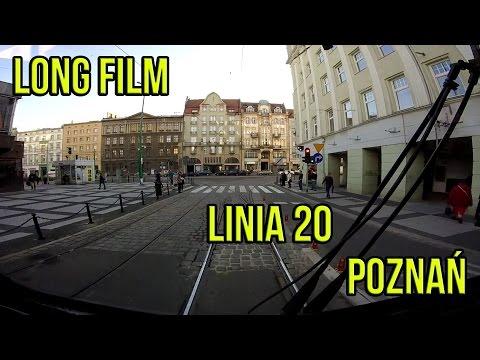 Linia 20 | os. Sobieskiego - R. Rataje - os. Sobieskiego | Poznań (Long Film)
