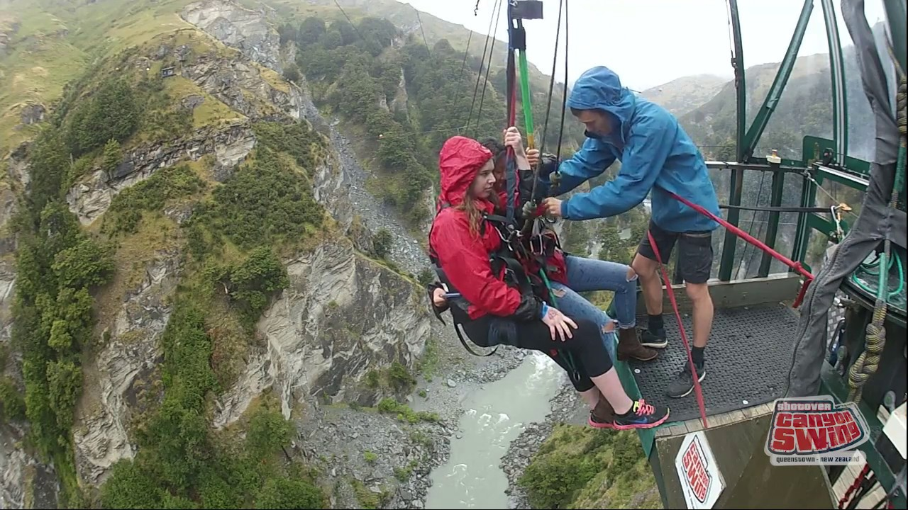 Canyon Swing Queenstown New Zealand 18 01 17 Maddie Reid
