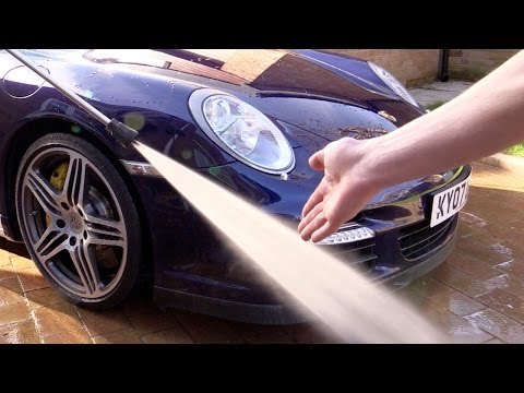 Why Pressure Washers DON'T Damage Paintwork!