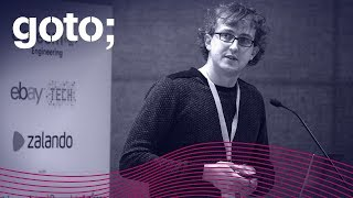 GOTO 2017 • Make Web Apps Fun to Build and Easy to Refactor with Elm • Daniel Bachler
