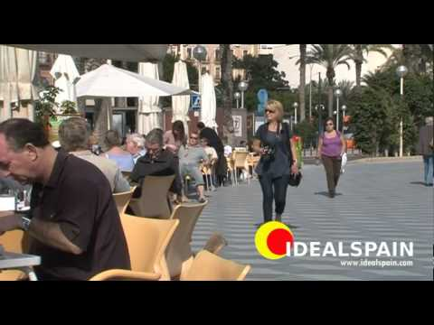 Alicante, city tour with Idealspain, Alicante beach, castle, town, cathedral