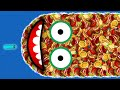 Gambar cover WORMSZONE.IO 001 BIGGEST SLITHER SNAKE TOP 01 / Epic Worms Zone Best Gameplay! #20