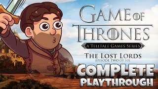 Telltale's Game Of Thrones – Episode 2: The Lost Lords [FULL PLAYTHROUGH]