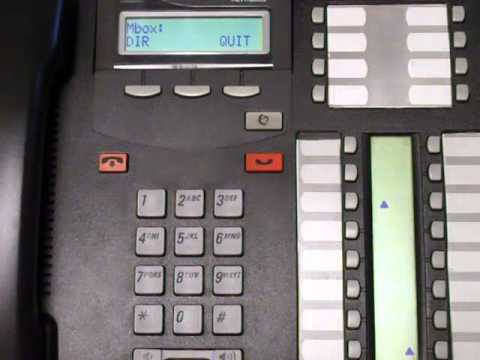 Resetting Password to Locked Mailbox - Norstar Business Phone Systems  Calgary