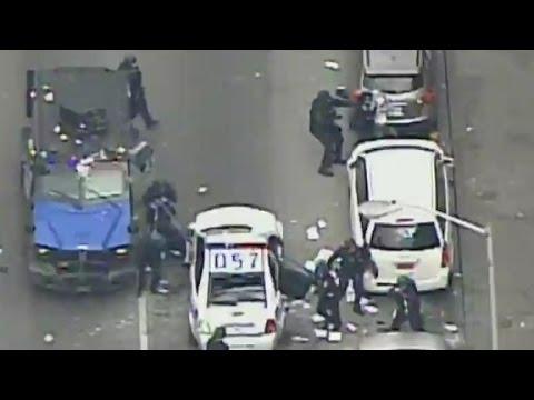 Riots erupt in Baltimore