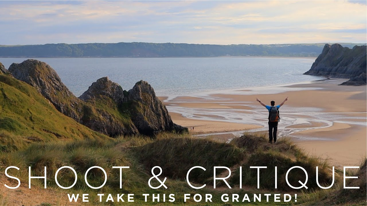 We take this for granted! Landscape photography trip to the BEAUTIFUL Gower, South Wales