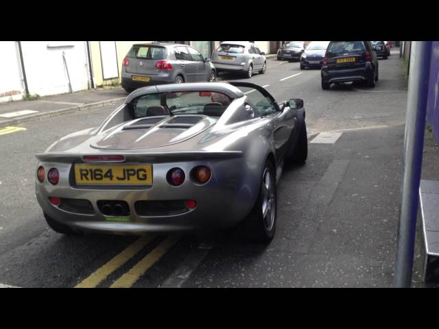 Lotus Elise S1 start up and drive off