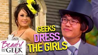 Geeks DRESS the Girls  Beauty and the Geek Australia  S01E04 Full Episodes