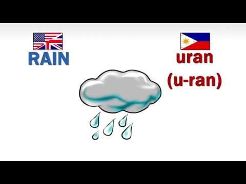 How to speak  Pangasinan- Nature (Part 1)