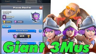 Giant Three Musketeers too Strong   Tico 6400+ Live Ladder Push