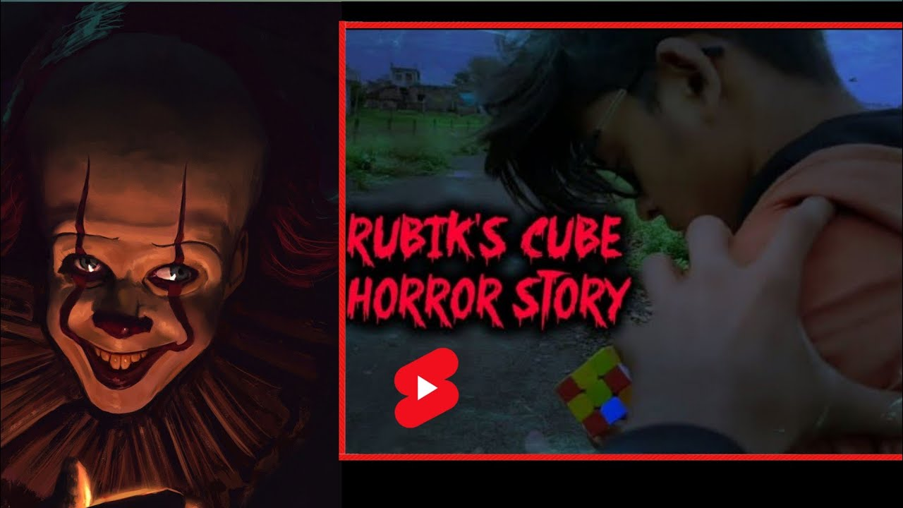 Rubik's cube short Horror movie | Full video link in description |