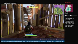 Fortnite this guy is cheating live