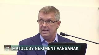 Matolcsy György nekiment Varga Mihálynak 19-09-10
