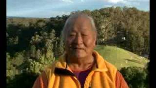 Chogyal Namkhai Norbu Dzogchen teachings at Namgyalgar retreat