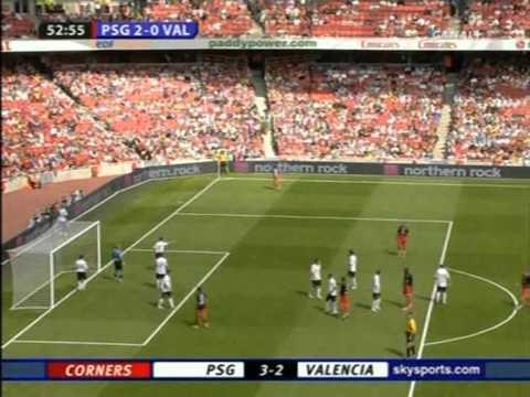 PSG 3-0 Valence (2ème Journée de l'Emirates Cup 2007)