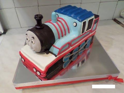 3D торт - Паровозик Томас!!!