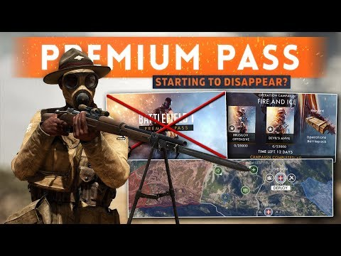 ➤ DICE STARTING TO REMOVE THE PREMIUM PAY WALL! - Battlefield 1 (Operation Campaigns Update)