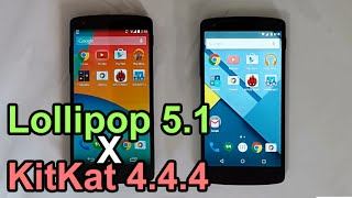 Android Lollipop 5.1 vs KitKat 4.4.4 - Performance Comparison (Nexus 5)