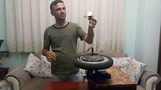 Elektrikli bisiklet tekeriyle elektrik üretmek