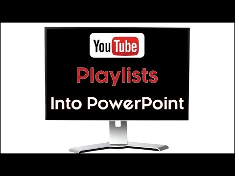 How to Embed a YouTube Playlist in PowerPoint