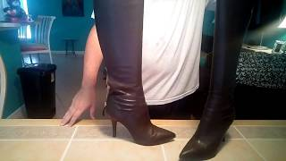 Nine West Fairvinda knee high boots